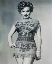 Marilyn Monroe Idaho Potatoe Sack Dress vintage