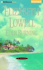 Eden Burning by Elizabeth Lowell (2015, CD, Unabridged)