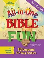 All-in-One Bible Fun : Heroes of the Bible for Elementary Children (2010,...