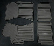 2008-2011 Impreza Genuine Subaru All weather Heavy gauge Rubber floor mats Black