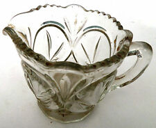 Vintage Antique Small Cut Glass Jug as scan
