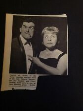 K1-8 Ephemera 1966 Picture Margate Ted Durante Penny Nicholls Toast Of The Town