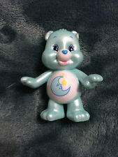 CARE BEARS PEARLIZED EDITION 3 COLLECTIBLE FIGURE BEDTIME BEAR