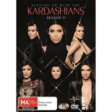 KEEPING UP WITH THE KARDASHIANS-Season 11-Region 4-New Sealed-4 Dics Set