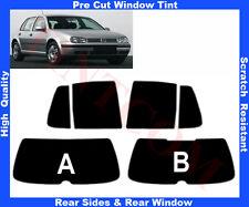 Pre Cut Window Tint VW Golf IV 5D 1999-2003 Rear Window & Rear Sides Any Shade