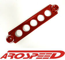 AROSPEED RED BILLET ALUMINUM BATTERY TIE DOWN BRACKET FOR HONDA CIVIC SI EP3