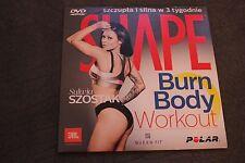 SHAPE DVD Sylwia Szostak Burn Body Wofkout
