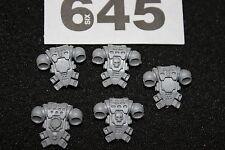 Juegos taller Warhammer 40k marines espaciales Mochilas Paquetes de espalda x5 Nueva WH40K