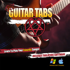 Guitar Lessons HIM Songs Learn How To play H.I.M Tablature + Tab Software CD-R