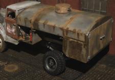 WWII Opel Blitz LKW Truck Modell Bausatz T Stoff Tankwagen Zubehör WWII RC 1/16