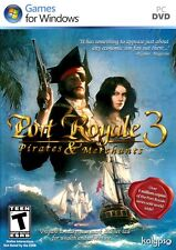 PORT ROYALE 3 PIRATES & MERCHANTS for PC XP/VISTA/7 SEALED NEW