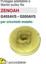 PULEGGIA AVVIAMENTO ZENOAH G455AVS • G500AVS per cricchetti metallo