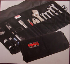 BIG DOG MOTORCYCLES ROLL UP TOOL POUCH W/ EMBROIDERED LOGO 14 TOOL SLOTS CHOPPER