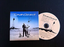 DAVID GILMOUR  Promo Rare ON A ISLAND live selections 3 tracks ( Pink Floyd )
