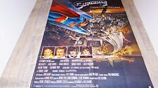 SUPERMAN II  ! christopher reeve affiche cinema DC comics bd