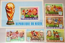 NIGER 1977 593-97 Block 18 412-417 Soccer World Cup 1978 Fußball WM Football MNH