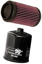 K&N ATV Air Filter + Oil Filter Combo PL-1003 + KN-303