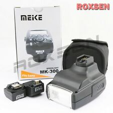 Meike MK-300 TTL Flash Speedlite Light USB for Sony Alpha A77 A580 NEX-7 5T A7S