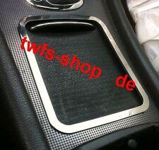 D Mercedes W203 Chrom Rahmen für die Mittelkonsole Aluminium poliert