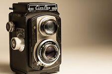 Ciro-Flex  Camera ALPHAX WOLLENSAK 3.5 LENS Velostigmat 85mm TLR 120 Delaware