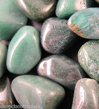 GREEN QUARTZ Tumbled Stone Chunky 40mm QTY1 Healing Crystal Attract Abundance