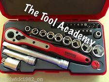 Teng SUPER BONUS SALE! 34 Pce 3/8 Drive Ratchet Socket Extension Tool Set