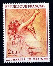 FRANCE - FRANCIA - 1973 - Opere d'arte: studio di donna