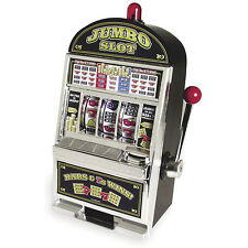 NEW Vegas Style Jumbo Slot Machine Coin Savings Bank