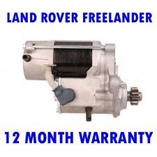 LAND ROVER FREELANDER 2.0 4X4 1998 1999 2000 2001 - 2006 RMFD STARTER MOTOR