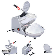 143LBS Electric Ice Crusher Shaver Machine Snow Cone Maker Shaved Ice 200W