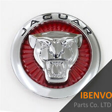 Red Hood Grille Growler Emblem Badge For JAGUAR  XJ XE XF XK XFR F-TYPE F-PACE