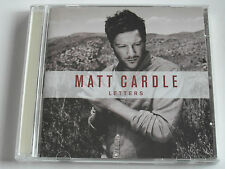 Matt Cardle - Letters (CD Album 2011) Used Very good