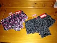 lot 2 pair MARVEL Rumba panties Large (7) NWT Avengers Spiderman Thor