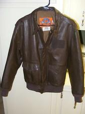 Vintage Cooper A-2 Goatskin Leather Flight Bomber Jacket USAF 40R