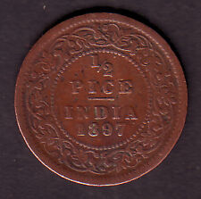 Victoria Empress-1/2 Pice 1897 Coin #VE14