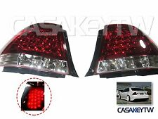 LEXUS IS200 IS300 98-05 LED RED/CLEAR Tail Lights Rear ALTEZZA
