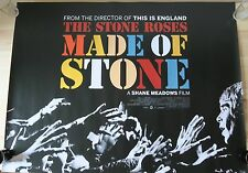 THE STONE ROSES: MADE OF STONE – RARE UK Cinema Quad Movie Poster, Shane Meadows