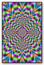 DRUG POSTER Psychedelic Pulse