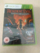 Resident Evil: Operation Raccoon City (Microsoft Xbox 360, 2012) - European...