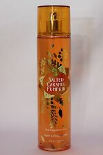 LOT 1 SALTED CARAMEL PUMPKIN BATH & BODY WORKS BODY MIST FRAGRANCE SPRAY 8 OZ