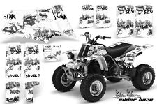 AMR Racing Yamaha Banshee 350 Decal Graphic Kit ATV Quad Wrap  87-05 SLVR HZE K