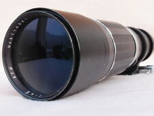 SOLIGOR 800mm (400mm x 2) M42 SUPER TELEPHOTO LENS CAN FIT PENTAX K, CANON EOS