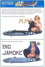 Kits World Decals 1/32 B-25J MITCHELL 321st BG Meet Mrs. Runyon & Big Jamoke