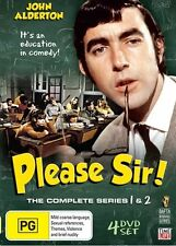 Please Sir : Series 1-2 (DVD, 2009, 4-Disc Set)I CAN POST UP TO 5 SERIES FOR $9