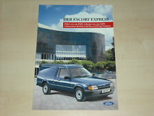 63902) Ford Escort Express Prospekt 06/1989