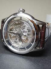 Oris Artelier Translucent Skeleton 40mm 100% NIB $2700 Retail, Huge Discount