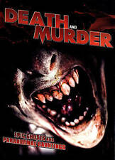 Death and Murder: Epic Ghosts and Paranormal Hauntings (DVD, 2014)