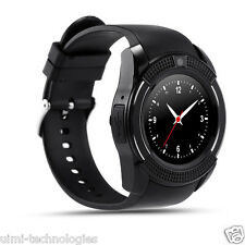 Bingo C6 Black Full Disc Touch Smartwatch Bluetooth and Sim Enabling Feature
