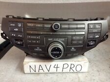 2011 2012 Honda Accord XM Radio CD navigation Player AC #A20 39100-TAO-A921-M1