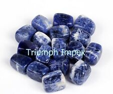 Sodalite Tumbles (50 gms) A stone of self-expression and confidence